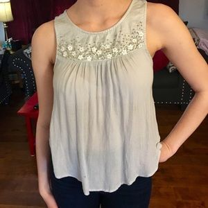 Abercrombie and Fitch sleeveless blouse